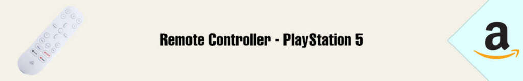 Banner Amazon Remote Controller PS5