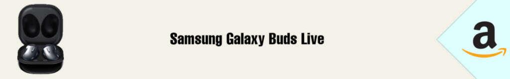 Banner Amazon Samsung Galaxy Buds Live