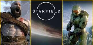 God of War Ragnarok Halo Infinite Starfield 2021