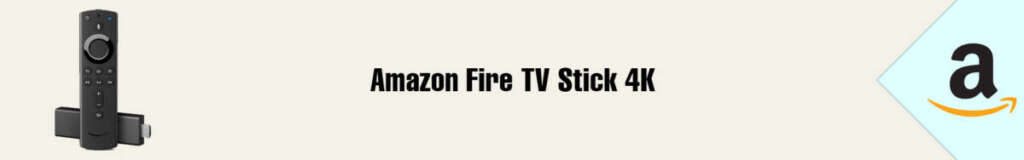 Banner Amazon Fire TV Stick 4K