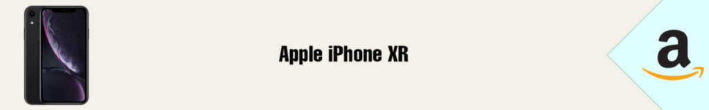 Banner Amazon Apple iPhone XR