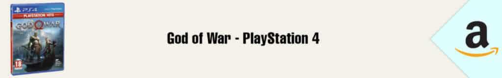 Banner Amazon God of War PS4