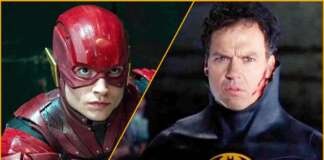 Batman Michael Keaton The Flash Ezra Miller