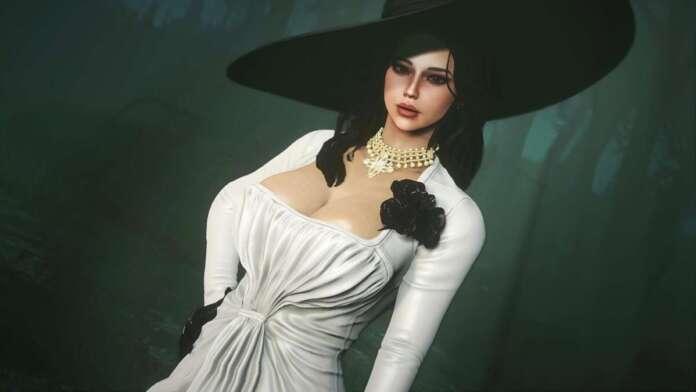 Resident-Evil-Village-Lady-Dimitrescu-Fallout-4