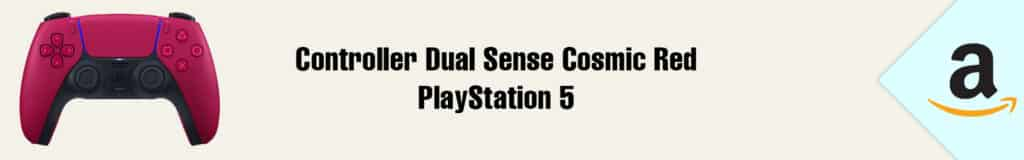 Banner Amazon Controller DualSense Cosmic Red PlayStation 5