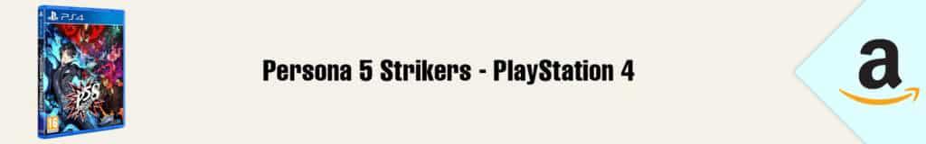 Banner Amazon Persona 5 Strikers PS4
