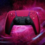 PlayStation 5 DualSense Cosmic Red