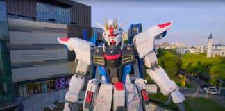 Statua Freedom Gundam Cina