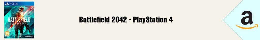 Banner Amazon Battlefield 2042 PS4