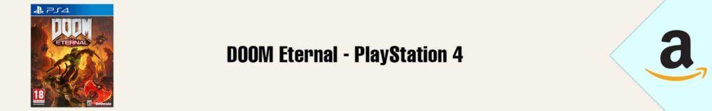 Banner Amazon DOOM Eternal PS4