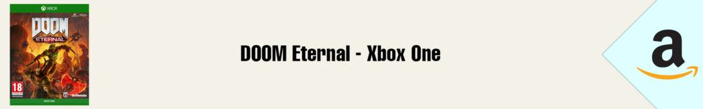 Banner Amazon DOOM Eternal Xbox