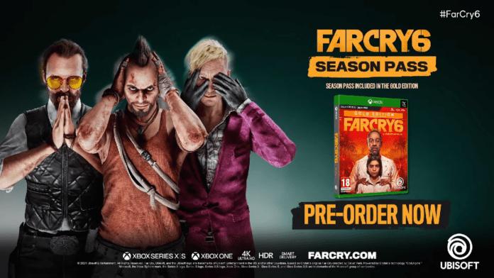 Far Cry 6 Vaas Pagan Min Joseph Seed Season Pass