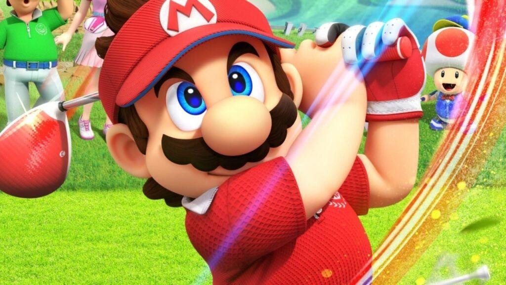 Mario Golf Super Rush 1