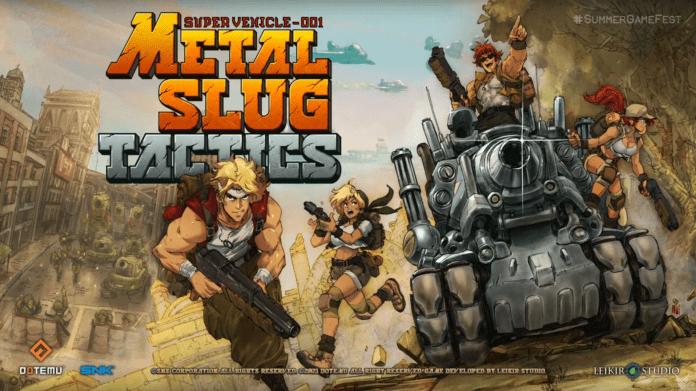 Metal Slug Tactics SNK Dotemu