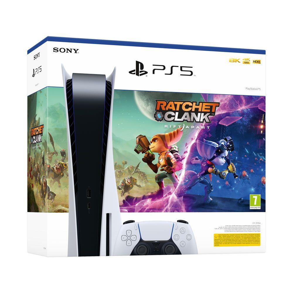 PlayStation 5 Ratchet and Clank Rift Apart Bundle 1