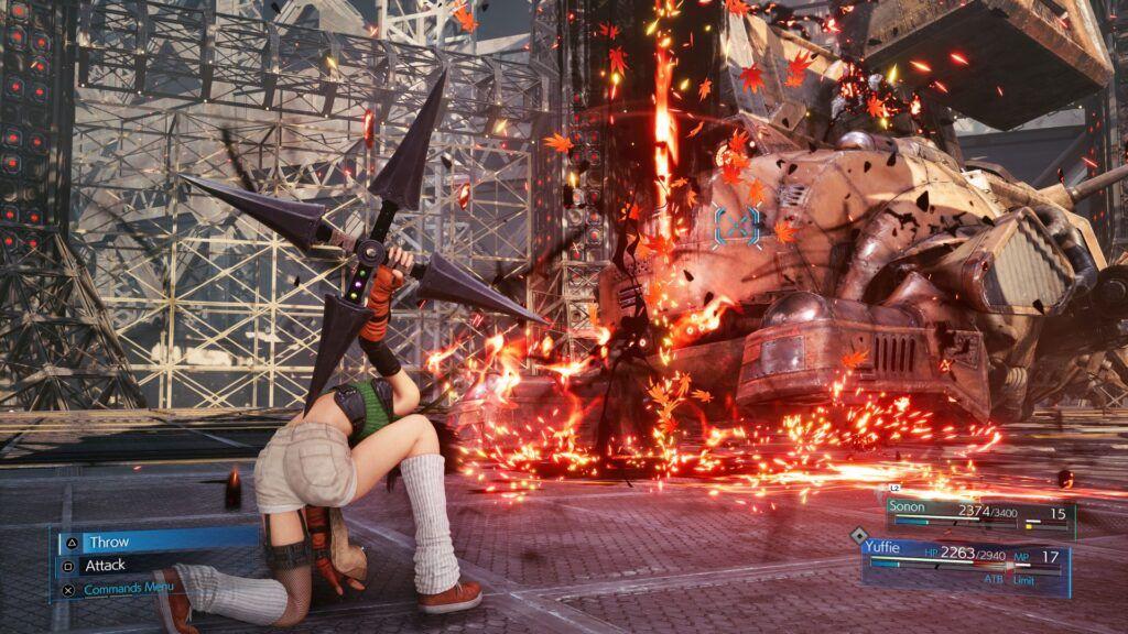 Final Fantasy VII Remake Intergrade: Episode INTERmission 3