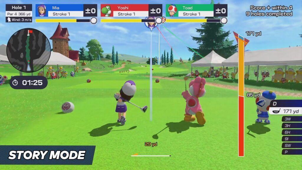 Mario Golf Super Rush 3
