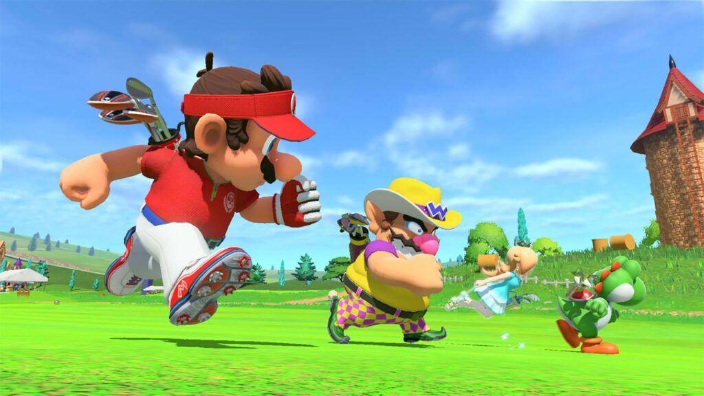 Mario Golf Super Rush 5