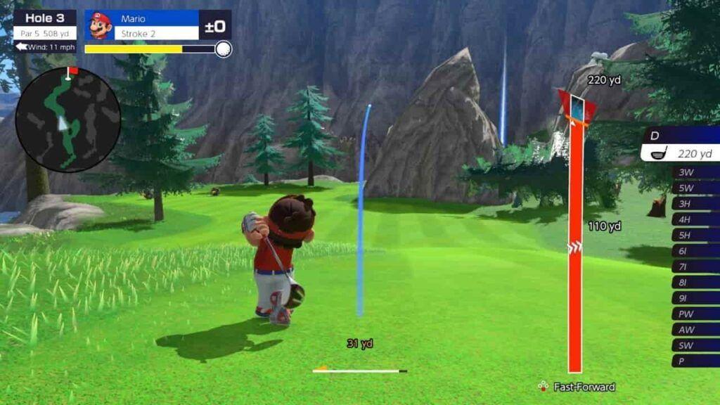 Mario Golf Super Rush 4