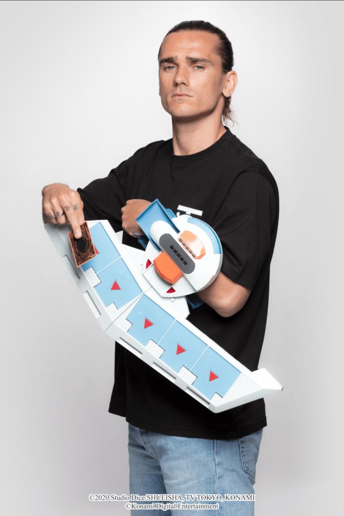 Antoine Griezman Yu-Gi-Oh Konami