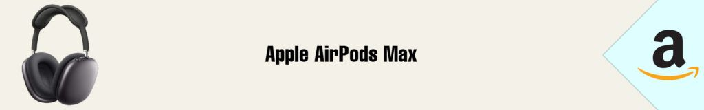 Banner Amazon Apple AirPods Max