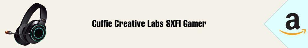 Banner Amazon Creative SXFI Gamer 2