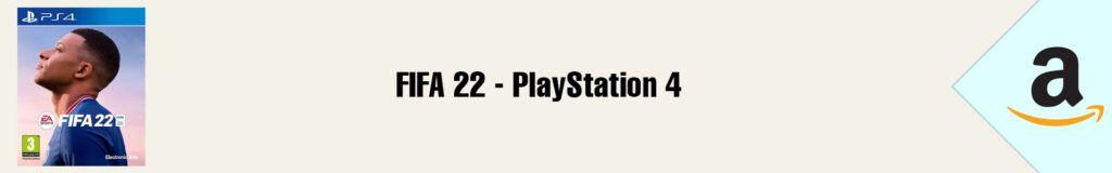 Banner Amazon FIFA 22 PS4