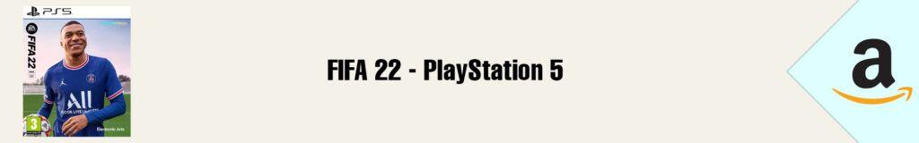 Banner Amazon FIFA 22 PS5
