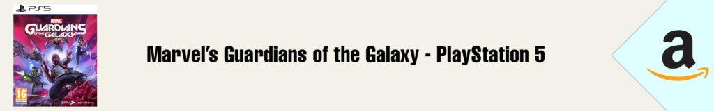Banner Amazon Guardians of the Galaxy PS5