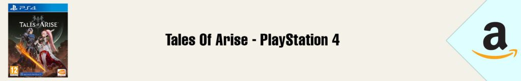 Banner Amazon Tales of Arise PS4