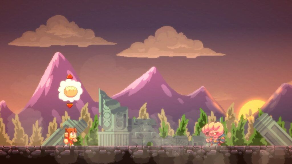 Alex Kidd in Miracle World DX 4