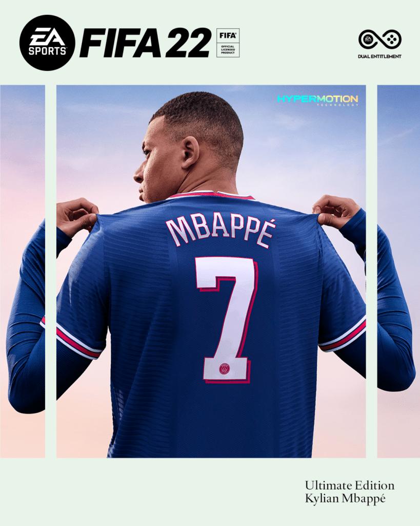 FIFA 22 Cover Kylian Mbappé