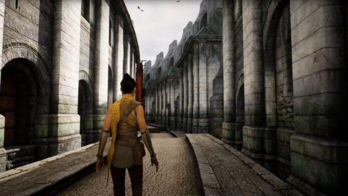 The Elder Scrolls 4 Oblivion Unreal Engine 5 Città Imperiale