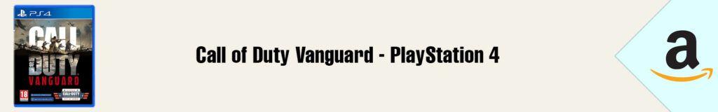 Banner Amazon Call of Duty Vanguard PS4