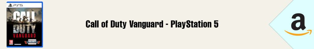 Banner Amazon Call of Duty Vanguard PS5