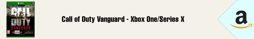 Banner Amazon Call of Duty Vanguard Xbox