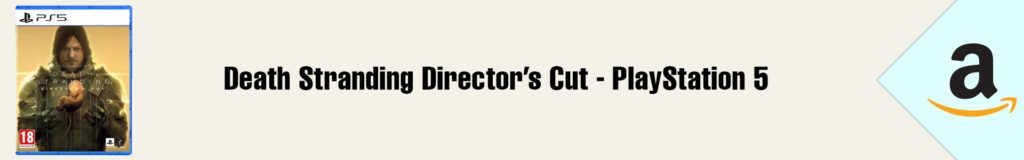 Banner Amazon Death Stranding Director's Cut PS5