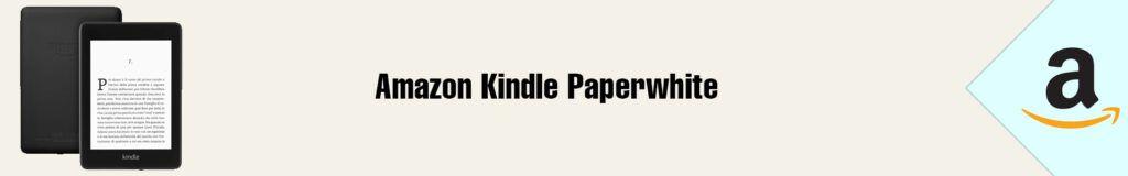 Banner Amazon Kindle Paperwhite