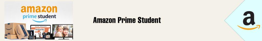 Banner Amazon Prime Student