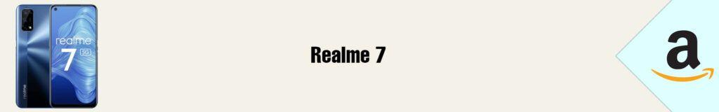 Banner Amazon Realme 7