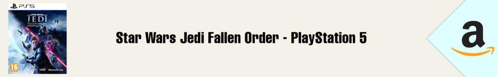 Banner Amazon Star Wars Jedi Fallen Order PS5
