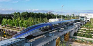 Cina treno levitazione magnetica