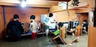 Filippine Internet Cafè Tifone videogiochi multiplayer 1