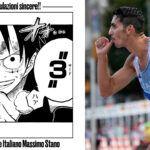 Olimpiadi Tokyo 2020 Massimo Stano Eiichiro Oda One Piece Luffy Gear Third