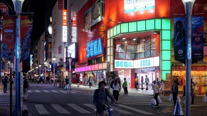 SEGA Ikebukuro Tokyo Giappone