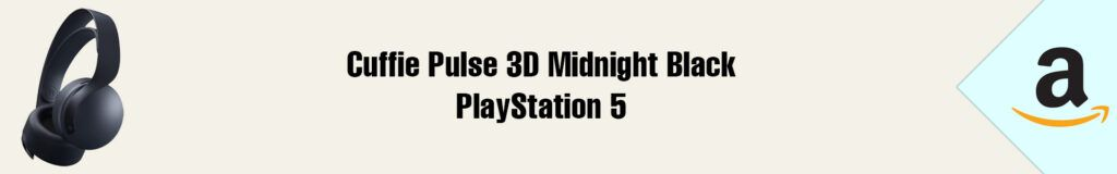 Banner Amazon Cuffie Pulse 3D Midnight Black PS5