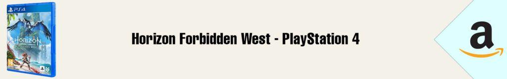 Banner Amazon Horizon Forbidden West PS4