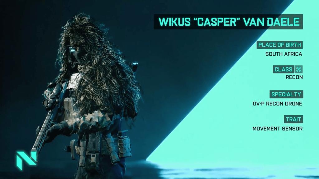 Battlefield 2042 Casper