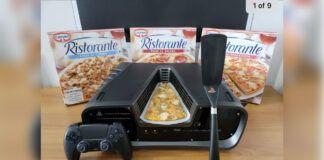 PlayStation 5 Devkit Pizza 1