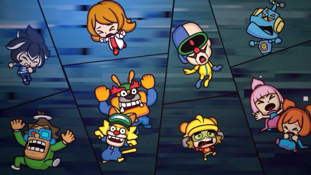WarioWare Get It Together! Characters